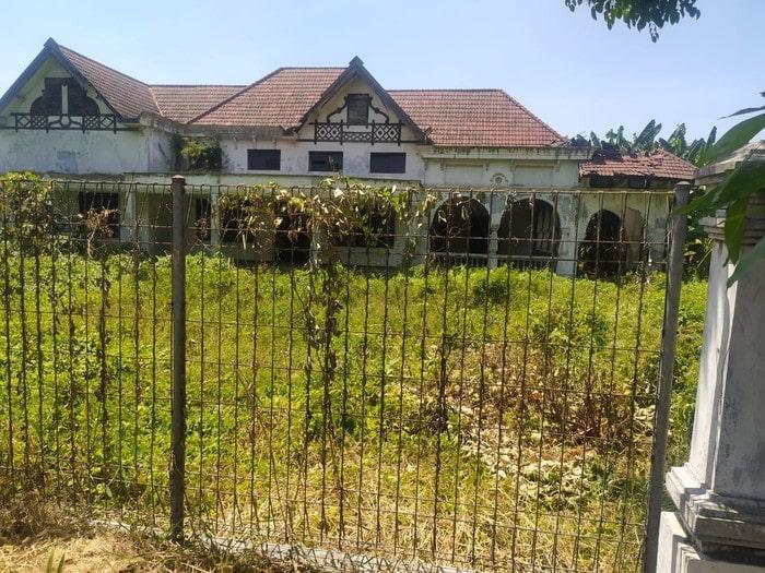 Bangunan bekas pabrik gula zaman Belanda di Sidoarjo (Foto: Suparno/detikcom)