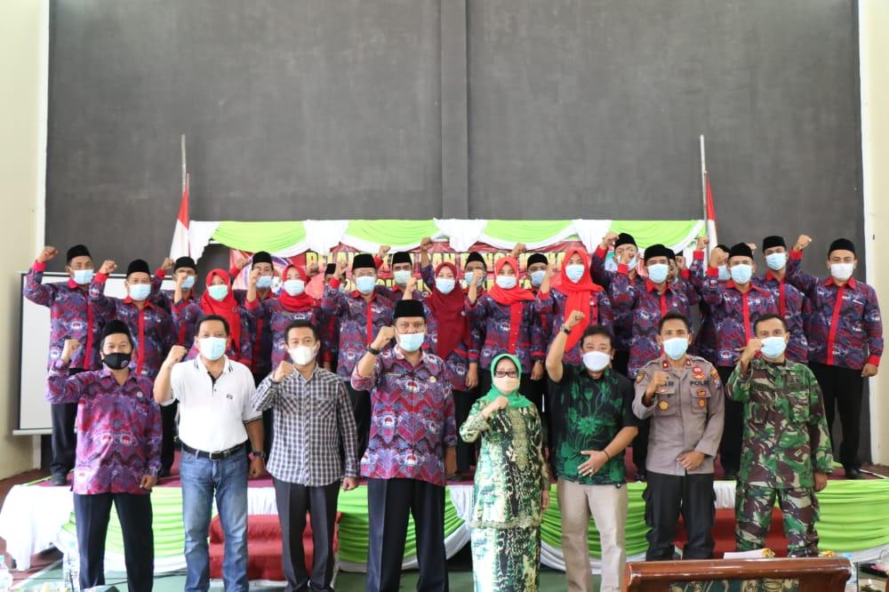 Bupati Jombang Hadiri Pengukuhan Pengurus PPDI Periode 2021-2026 Kecamatan Ploso