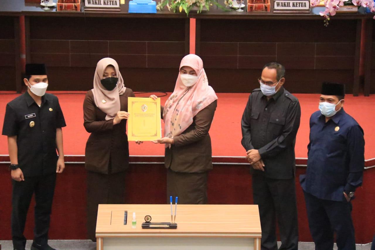 Paripurna_DPRD_Kabupaten_Mojokerto,_Penetapan_Raperda_Pertanggungjawaban_APBD_2020